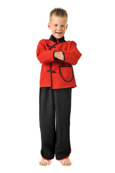 Children's Boys Chinese Man/Boy Fancy Dress Up Costume